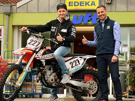 Rheinberg: Borther Edeka-Chef Luft sponsert Motocross-Talent
